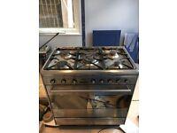 SMEG dual fuel range cooker 80cm