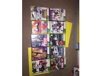 8 Xbox 360 games.