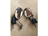 Towing mirrors universal fitting including Vectra