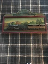 3D Wooden Carved Train picture