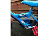 Children's bike,Thomas the tank