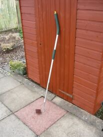 Yeoman Stainless Steel Draw Hoe