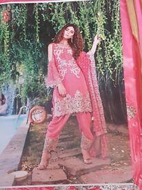 indian pakistani designer sakwar kameez bollywood dress