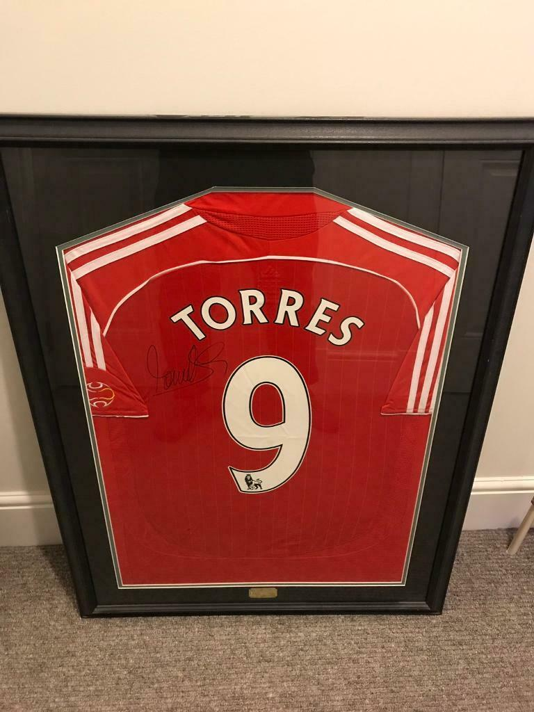 Liverpool FC Fernando Torres 07 08 Authentic Signed Shirt  14a35edea
