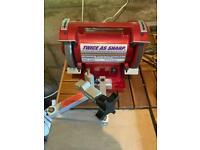 Twice as sharp Ookami Gold scissor sharpening machine 220v