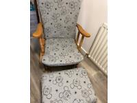 Mickey Mouse Rocking chair and stool
