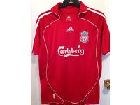 Liverpool Football Shirt Adult Adidas Size Medium