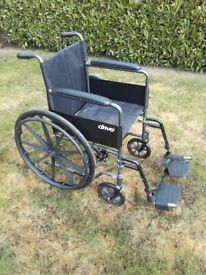 Self Propel Modern Black Drive Wheelchair