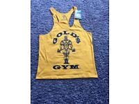 Gold's Gym Yellow Vest