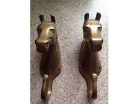 Brass horse coat hooks for wall 2