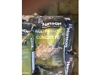 Hansons Concrete Ready Mix - 35 bags approx