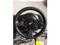 Thrustmaster T300RS GT edition and TH8A gear shift