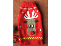 CHRISTMAS JUMPER FOR SMALL DOG