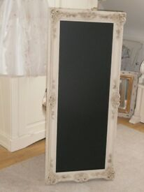 Large Ornate Chalkboard.