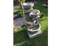 4 bowl water feature