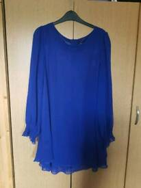 Size 14 worn once blue dress