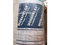 Roll of monarflex sheeting waterproof.