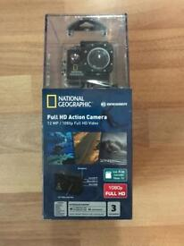 National Geographic Full HD Action Camera (similar to GoPro)