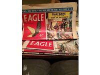 Eagle Comic 1956 - 1957 24 copies