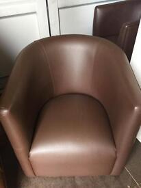 Bucket armchairs