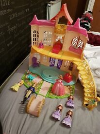 Disney princess sophia talking castle
