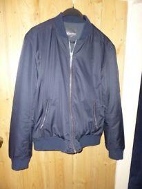 Navy man's winter jacket from Next