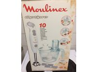 Unused Moulinex Optipro - Excellent Condition