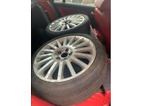 3 x Ford Mondeo ST220 wheels