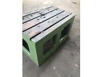 Cast Iron Drill Box Table