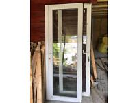 Upvc French doors white