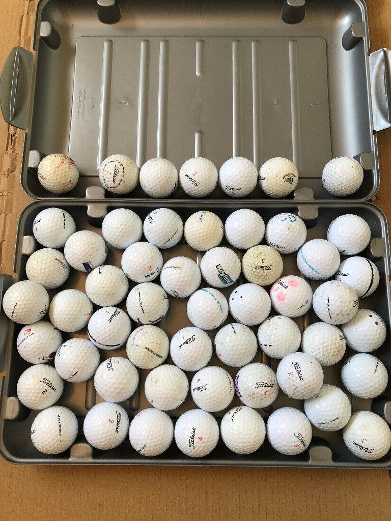 54 Titleist Golf Balls