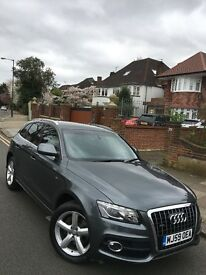 59 plate Audi Q5 3.0 Tdi S Line S Tronic Quattro 1 owner, full service history,immaculate car