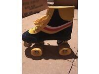 Disco roller skates