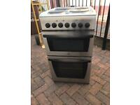 Tidy. Silver. Electric. 50cm. Cooker.
