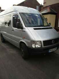 VW LT35 Hightop Surf Campervan. Sleeps4 Seats5 safely.Professionally fitted,Toilet. &wardrobe space!