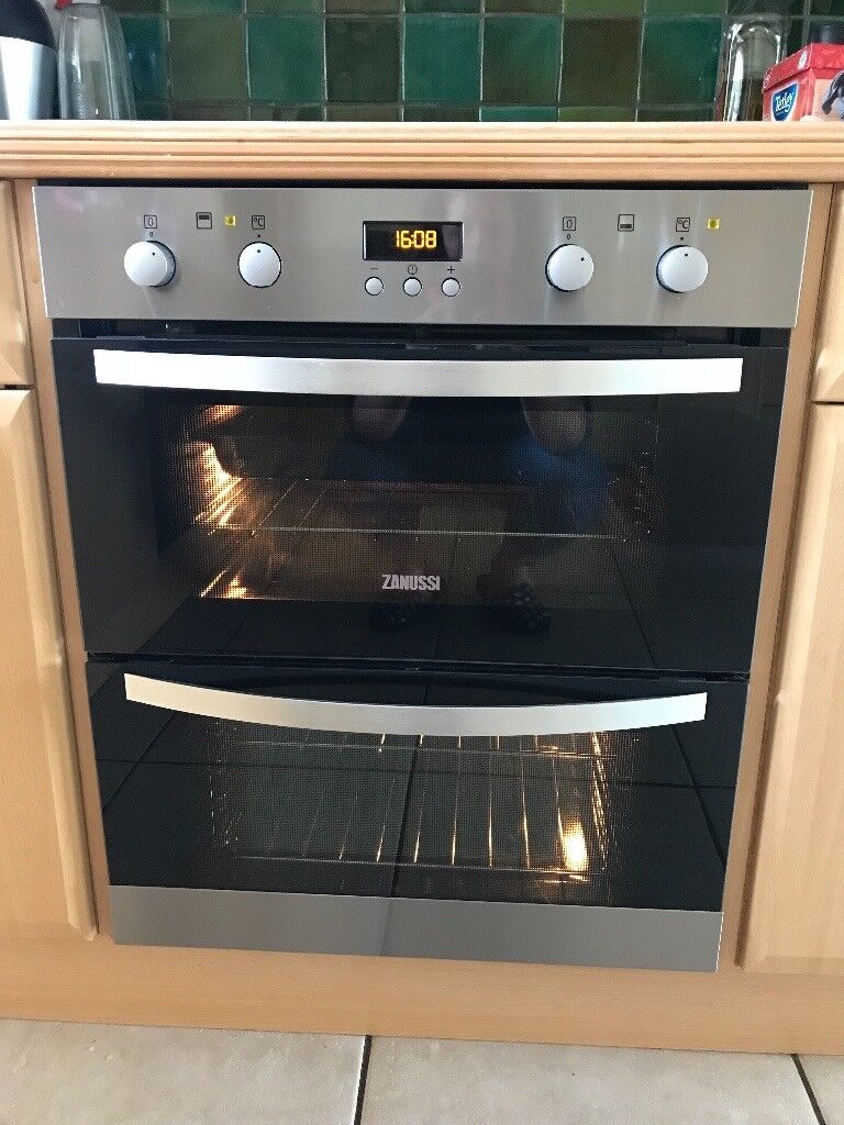 Zanussi Zof35702xk Double Built Under Electric Oven In Insch Collection Ovens Single Lamona Conventional