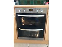 Zanussi ZOF35702XK double built under electric oven