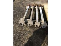 Heavy Steel Yacht Cradle Legs