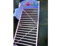 """PEPPA PIG"" PINK/LILAC METAL TODDLER BED"