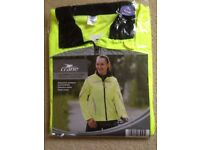 Ladies Small zip front cycling jacket