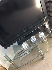 Glass tv or coffee unit