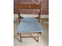 IKEA Terje wooden folding chair (brown)