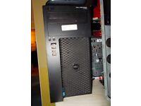 16GB ram + 120GB SSD FAST Dell Precision T1650 workstation QUAD CORE XEON