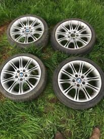 "Bmw mv2 18"" alloy wheels set of 4"