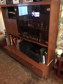 Retro 60's/70's wooden cabinet