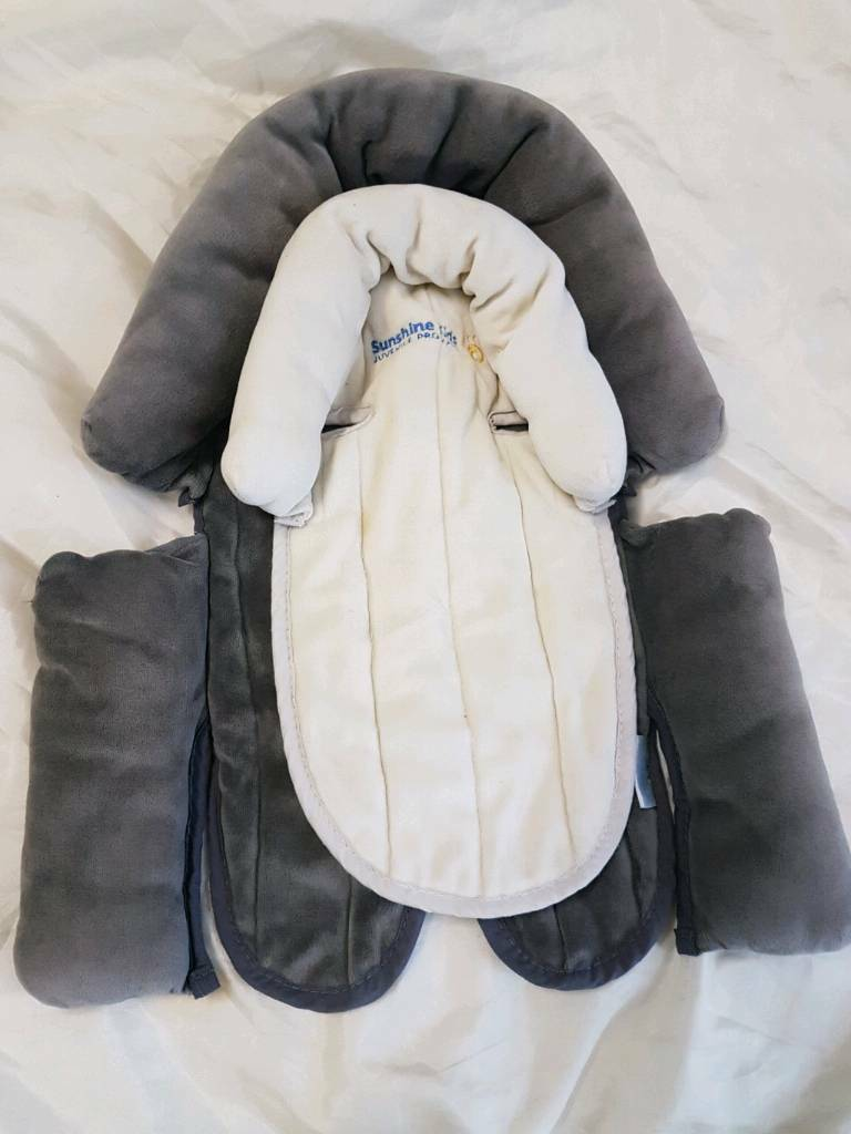 Baby head hugger support set of 2 car seat pushchair