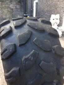 Quad tyre