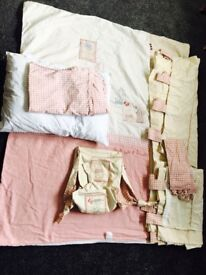 Mamas and papas cot bed set