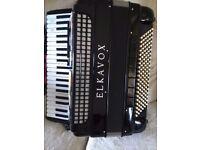 Elkavox 120 bass accordion