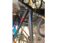 Specialized hybrid bicycle
